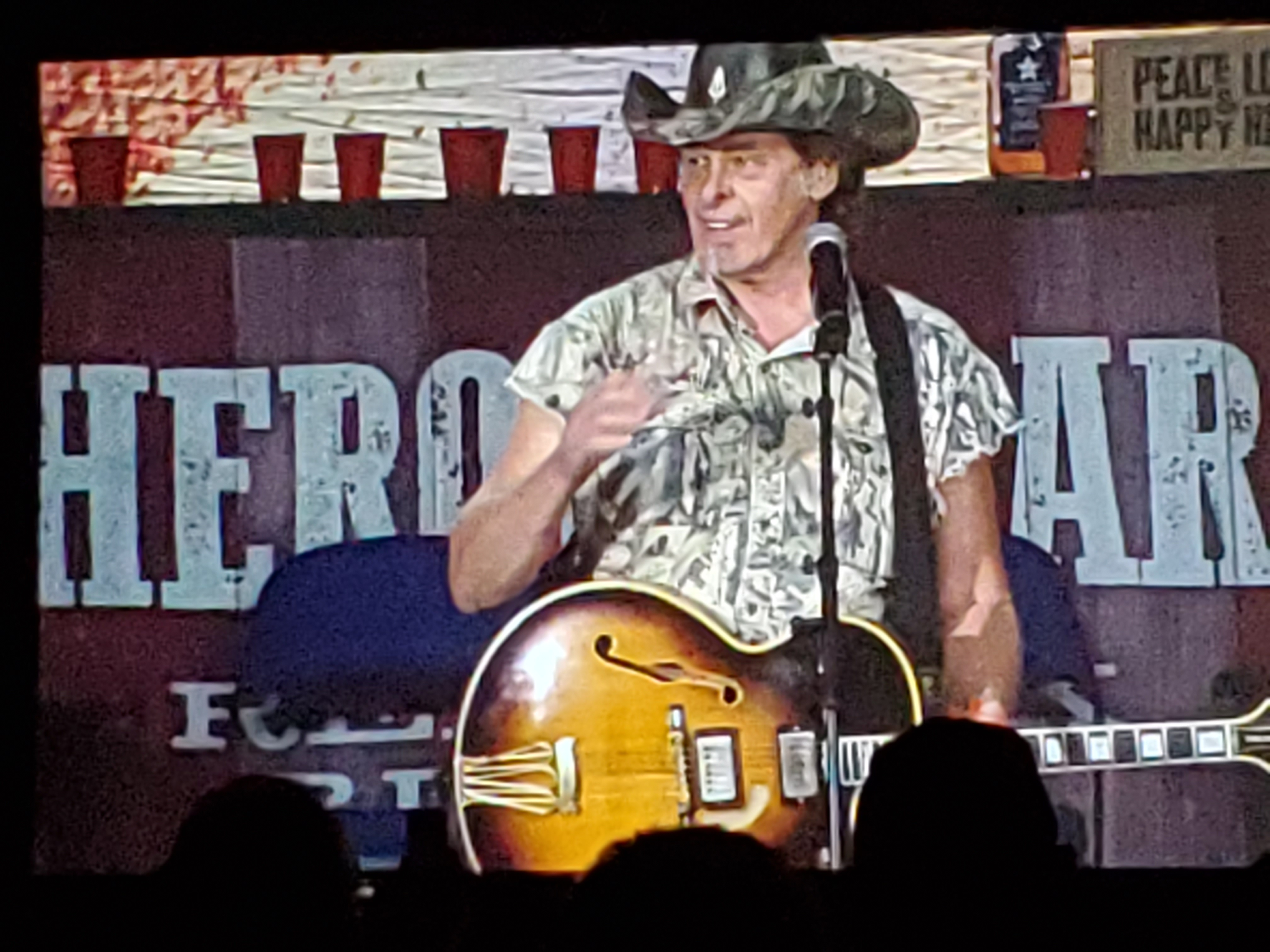 Ted Nugent at the Made in American 2019 Trade Show