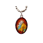 Saint Anthony of Padua - Hand-Painted Saint medal