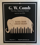 G.W. Comb: Limited Edition Wooden