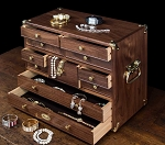 The J1811 Treasure Chest Jewelry Chest