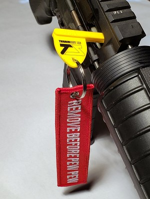 TriggerSafe Chamber Flag with